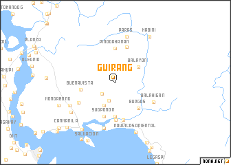 map of Guirang