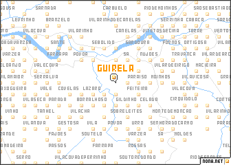 map of Guirela