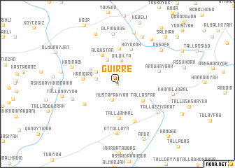 map of Guirré