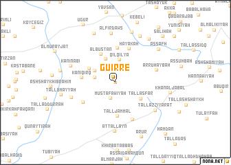 map of Guirré