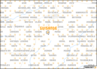 map of Guisande