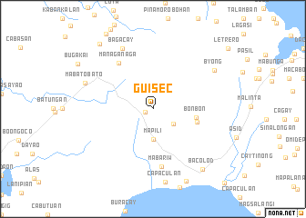 map of Guisec