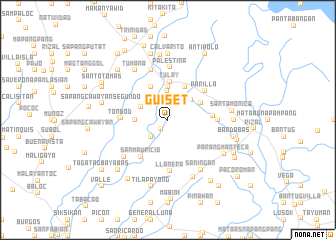 map of Guiset