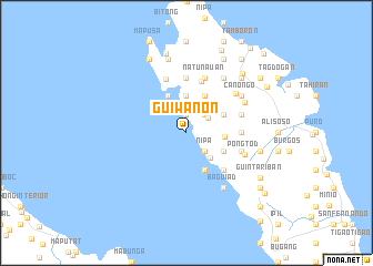 map of Guiwanon