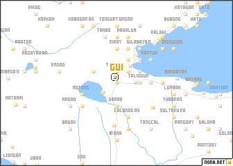 map of Gui