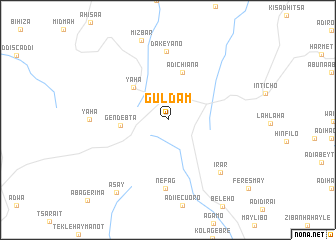 map of Guldam