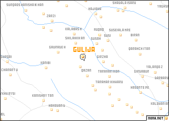 map of Gulija