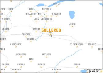 Gullered sweden map - Gloriette fer smeden ...
