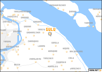 Gulu China map nonanet