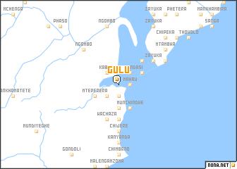 Gulu Malawi map nonanet