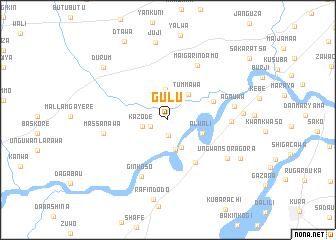 Gulu Nigeria map nonanet