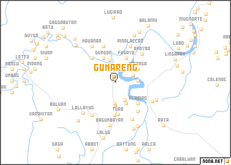 map of Gumareng