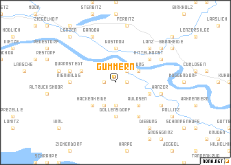 map of Gummern