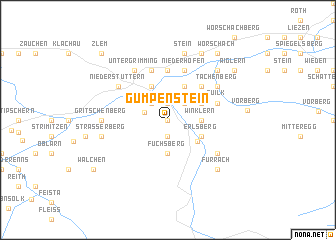 map of Gumpenstein