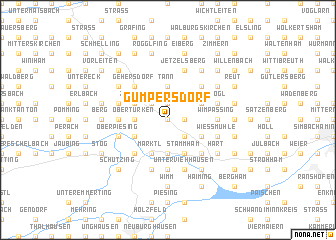 map of Gumpersdorf