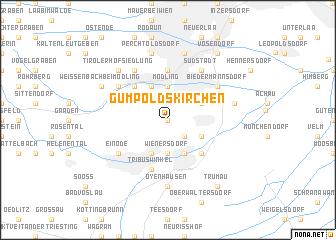 map of Gumpoldskirchen