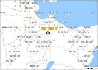 map of Gunanba