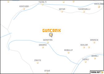 map of Günçarık