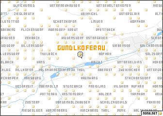map of Gündlkoferau