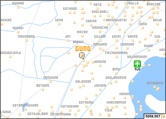 map of Gund