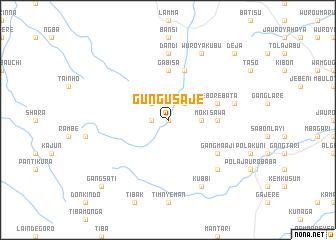 map of Gungu Saje