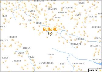 map of Gunjaci