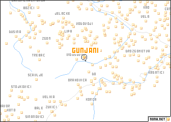 map of Gunjani