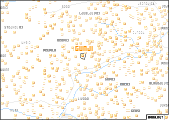 map of Gunji