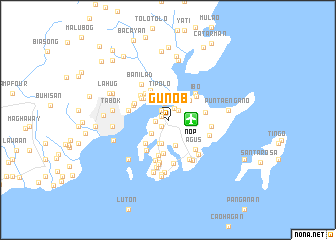 map of Gun-ob