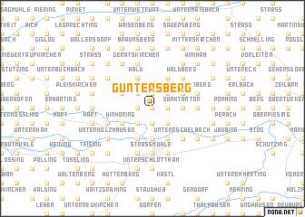 map of Guntersberg