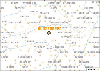map of Gunzenberg