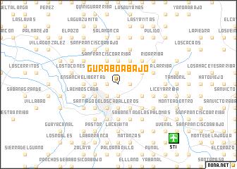 map of Gurabo Abajo