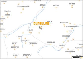 map of Gürbulaq
