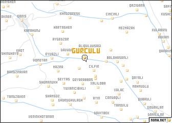map of Gürcülü
