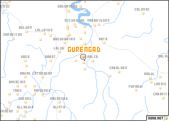 map of Gurengad