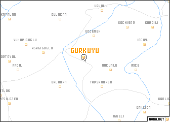 map of Gürkuyu
