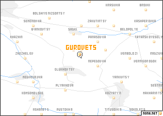 map of Gurovets