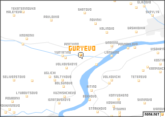 map of Gur\