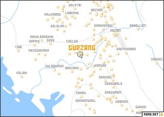 map of Gūrzāng