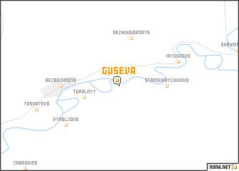 map of Guseva