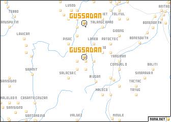 map of Gussadan