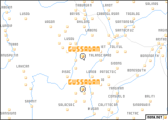 map of Gussadan