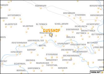 map of Gußhof