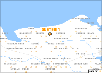 map of Gustebin
