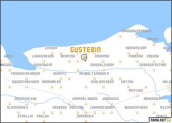 map of Gustebin
