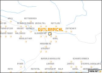 map of Gütl am Pichl