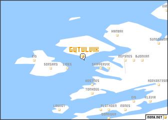 map of Gutulvik