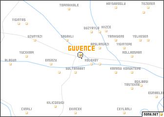 map of Güvence