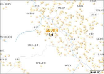 map of Guvna