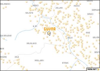 map of Guvna